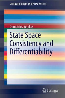 State Space Consistency and Differentiability - SpringerBriefs in Optimization (Paperback)