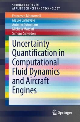 Uncertainty Quantification in Computational Fluid Dynamics and Aircraft Engines - SpringerBriefs in Applied Sciences and Technology (Paperback)