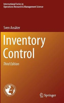 Inventory Control - International Series in Operations Research & Management Science 225 (Hardback)
