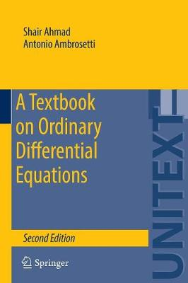 A Textbook on Ordinary Differential Equations - UNITEXT 88 (Paperback)