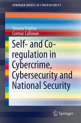 Self- and Co-regulation in Cybercrime, Cybersecurity and National Security - SpringerBriefs in Cybersecurity (Paperback)