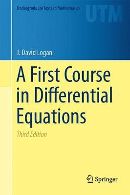 A First Course in Differential Equations - Undergraduate Texts in Mathematics (Hardback)