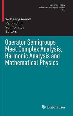 Operator Semigroups Meet Complex Analysis, Harmonic Analysis and Mathematical Physics - Operator Theory: Advances and Applications 250 (Hardback)