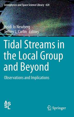 Tidal Streams in the Local Group and Beyond: Observations and Implications - Astrophysics and Space Science Library 420 (Hardback)