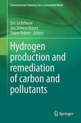 Hydrogen Production and Remediation of Carbon and Pollutants - Environmental Chemistry for a Sustainable World 6 (Hardback)
