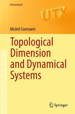 Topological Dimension and Dynamical Systems - Universitext (Paperback)
