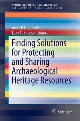 Finding Solutions for Protecting and Sharing Archaeological Heritage Resources - SpringerBriefs in Archaeology (Paperback)