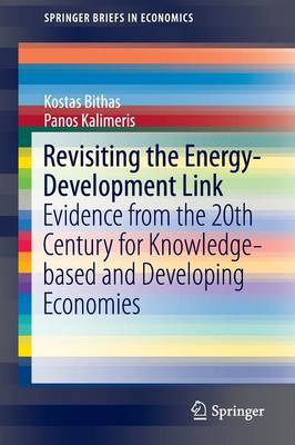 Revisiting the Energy-Development Link: Evidence from the 20th Century for Knowledge-based and Developing Economies - SpringerBriefs in Economics (Paperback)