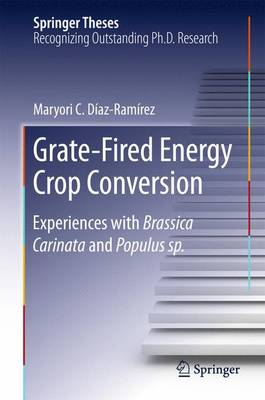 Grate-Fired Energy Crop Conversion: Experiences with Brassica Carinata and Populus sp. - Springer Theses (Hardback)