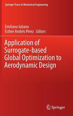 Application of Surrogate-based Global Optimization to Aerodynamic Design - Springer Tracts in Mechanical Engineering (Hardback)