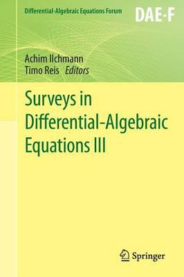 Surveys in Differential-Algebraic Equations III - Differential-Algebraic Equations Forum (Paperback)