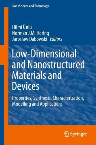 Low-Dimensional and Nanostructured Materials and Devices: Properties, Synthesis, Characterization, Modelling and Applications - NanoScience and Technology (Hardback)