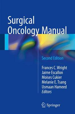 Surgical Oncology Manual (Paperback)