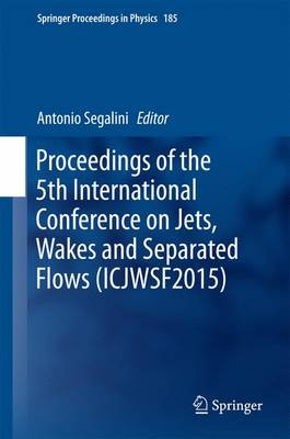 Proceedings of the 5th International Conference on Jets, Wakes and Separated Flows (ICJWSF2015) - Springer Proceedings in Physics 185 (Hardback)