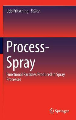 Process-Spray: Functional Particles Produced in Spray Processes (Hardback)