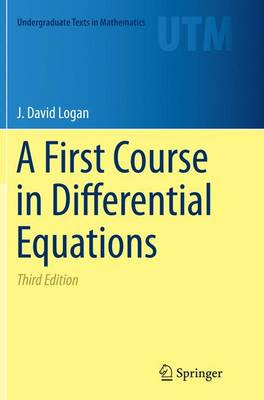 A First Course in Differential Equations - Undergraduate Texts in Mathematics (Paperback)
