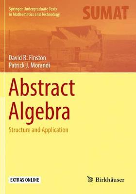 Abstract Algebra: Structure and Application - Springer Undergraduate Texts in Mathematics and Technology (Paperback)