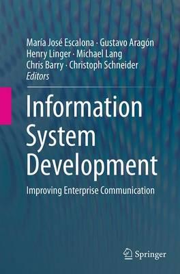 Information System Development: Improving Enterprise Communication (Paperback)