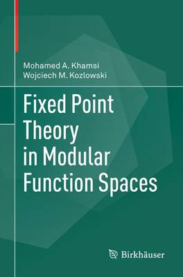 Fixed Point Theory in Modular Function Spaces (Paperback)
