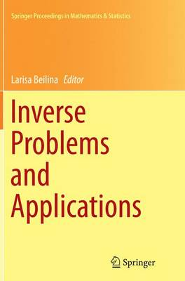 Inverse Problems and Applications - Springer Proceedings in Mathematics & Statistics 120 (Paperback)