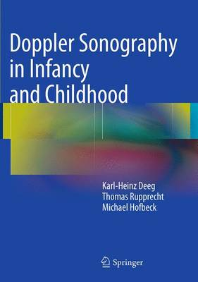 Doppler Sonography in Infancy and Childhood (Paperback)