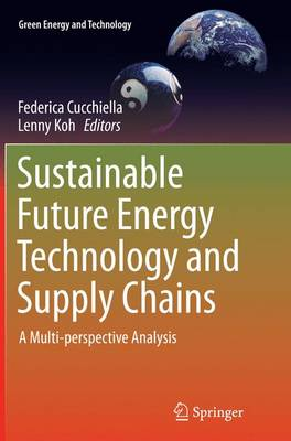 Sustainable Future Energy Technology and Supply Chains: A Multi-perspective Analysis - Green Energy and Technology (Paperback)