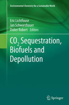 CO2 Sequestration, Biofuels and Depollution - Environmental Chemistry for a Sustainable World 5 (Paperback)