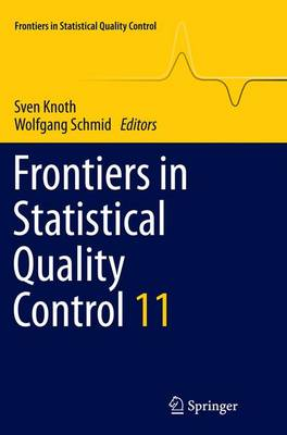 Frontiers in Statistical Quality Control 11 - Frontiers in Statistical Quality Control (Paperback)