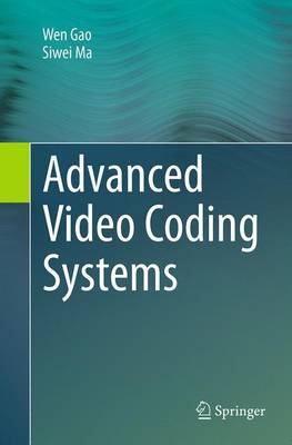 Advanced Video Coding Systems (Paperback)