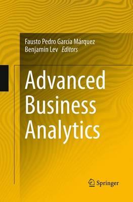 Advanced Business Analytics (Paperback)