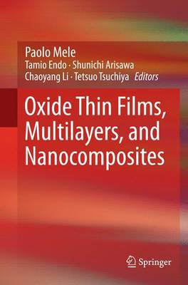 Oxide Thin Films, Multilayers, and Nanocomposites (Paperback)