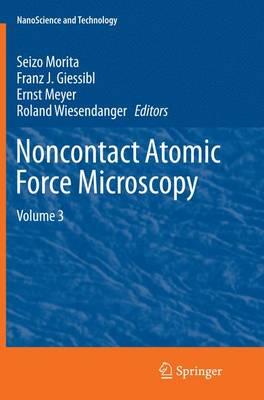 Noncontact Atomic Force Microscopy: Volume 3 - NanoScience and Technology (Paperback)