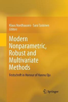 Modern Nonparametric, Robust and Multivariate Methods: Festschrift in Honour of Hannu Oja (Paperback)