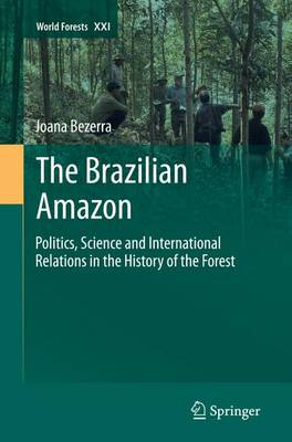 The Brazilian Amazon: Politics, Science and International Relations in the History of the Forest - World Forests 21 (Paperback)