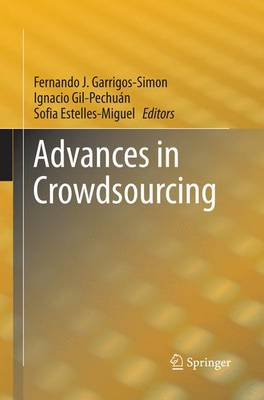 Advances in Crowdsourcing (Paperback)