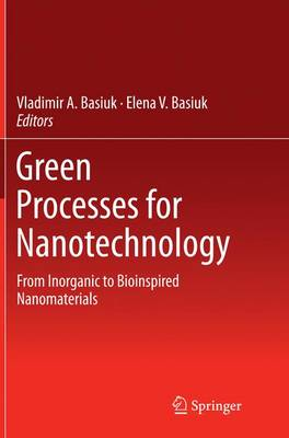 Green Processes for Nanotechnology: From Inorganic to Bioinspired Nanomaterials (Paperback)