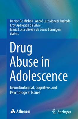 Drug Abuse in Adolescence: Neurobiological, Cognitive, and Psychological Issues (Paperback)
