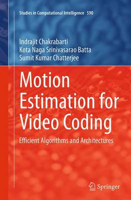 Motion Estimation for Video Coding: Efficient Algorithms and Architectures - Studies in Computational Intelligence 590 (Paperback)
