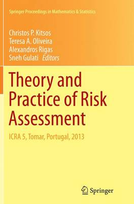 Theory and Practice of Risk Assessment: ICRA 5, Tomar, Portugal, 2013 - Springer Proceedings in Mathematics & Statistics 136 (Paperback)