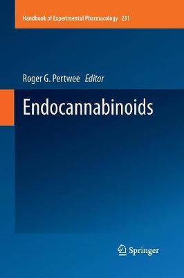 Endocannabinoids - Handbook of Experimental Pharmacology 231 (Paperback)