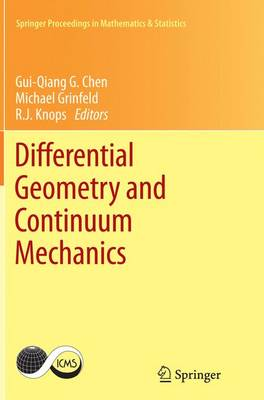 Differential Geometry and Continuum Mechanics - Springer Proceedings in Mathematics & Statistics 137 (Paperback)