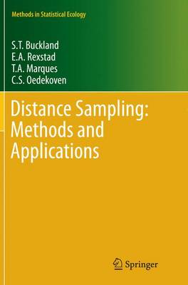 Distance Sampling: Methods and Applications - Methods in Statistical Ecology (Paperback)