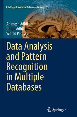 Data Analysis and Pattern Recognition in Multiple Databases - Intelligent Systems Reference Library 61 (Paperback)