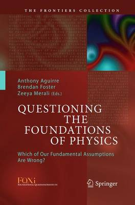 Questioning the Foundations of Physics: Which of Our Fundamental Assumptions Are Wrong? - The Frontiers Collection (Paperback)