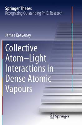 Collective Atom-Light Interactions in Dense Atomic Vapours - Springer Theses (Paperback)