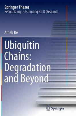 Ubiquitin Chains: Degradation and Beyond - Springer Theses (Paperback)