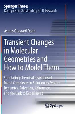 Transient Changes in Molecular Geometries and How to Model Them: Simulating Chemical Reactions of Metal Complexes in Solution to Explore   Dynamics, Solvation, Coherence, and the Link to Experiment - Springer Theses (Paperback)