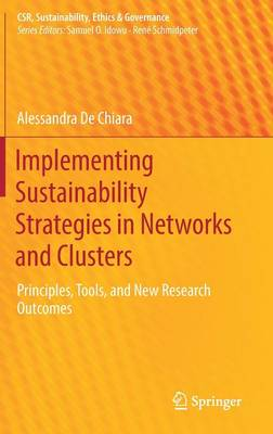 Implementing Sustainability Strategies in Networks and Clusters: Principles, Tools, and New Research Outcomes - CSR, Sustainability, Ethics & Governance (Hardback)