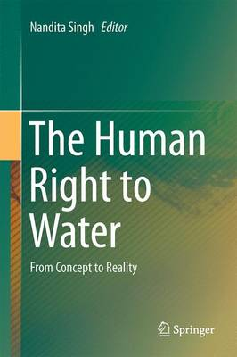 The Human Right to Water: From Concept to Reality (Hardback)