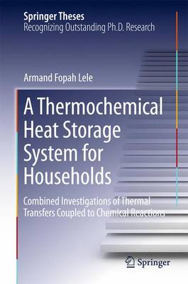 A Thermochemical Heat Storage System for Households: Combined Investigations of Thermal Transfers Coupled to Chemical Reactions - Springer Theses (Hardback)